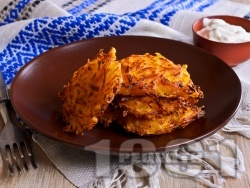 Картофени рьощи - лесни картофени кюфтета на ренде без яйца и без лук на фурна - снимка на рецептата
